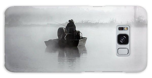Early Morning Fishing Galaxy Case
