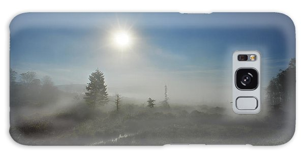 Galaxy Case featuring the photograph Early Morning Fog At Canaan Valley by Dan Friend