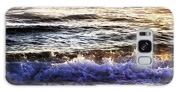 Early Morning Frothy Waves Galaxy Case by Amyn Nasser