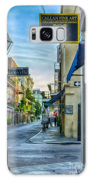 Early Morning In French Quarter Nola Galaxy Case