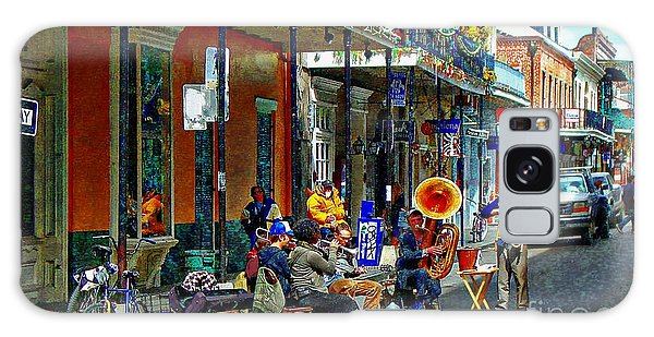Early Morning Jazz In New Orleans Galaxy Case