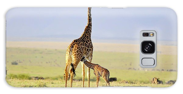 Giraffe Galaxy Case - Early Morning Milk by Zw Young