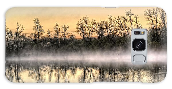 Early Morning Mist Galaxy Case by Lynn Geoffroy