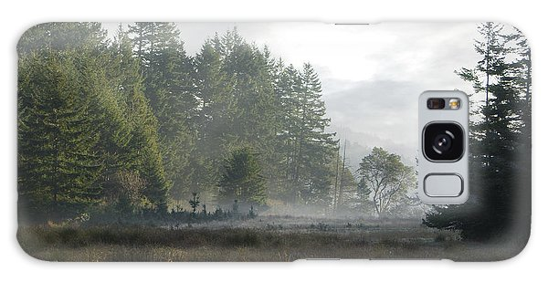 Early Morning Mist Galaxy Case