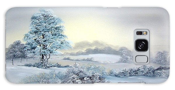 Early Morning Snows Galaxy Case by Jean Walker