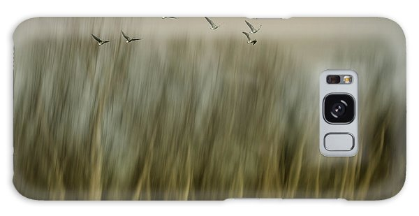 Geese Galaxy S8 Case - Early Spring Vision... by Yvette Depaepe