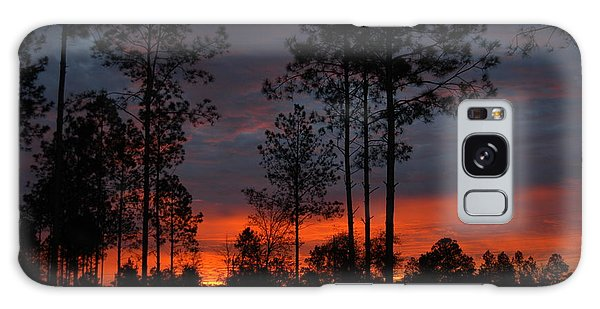 Early Sunrise Galaxy Case by Donald Williams