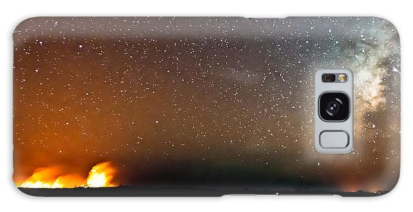 Earth And Cosmos Galaxy Case