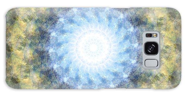 Earth And Sky Mandala Kaleidoscope Galaxy Case