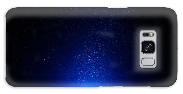 Earth At Night With City Lights Galaxy Case
