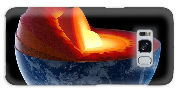 Earth Galaxy Case - Earth Core Structure - Isolated by Johan Swanepoel