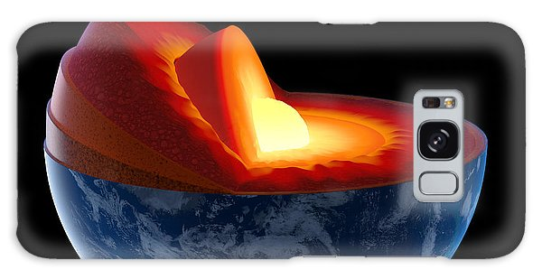 Layers Galaxy Case - Earth Core Structure - Isolated by Johan Swanepoel