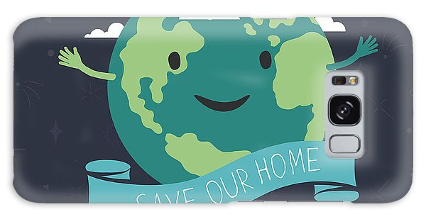 Ecology Galaxy Case - Earth Day, 22 April. Save Our Home by Pashabo