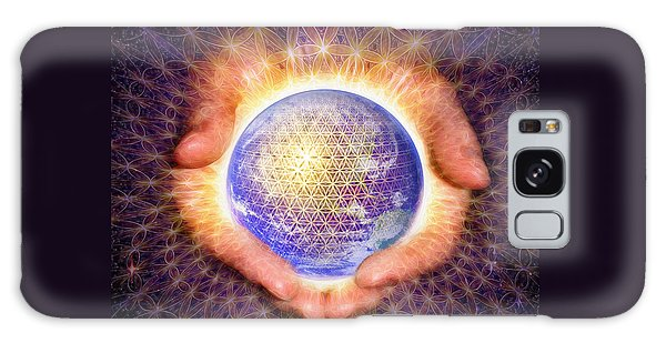 Earth Healing Galaxy Case
