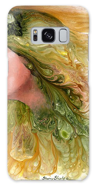 Earth Maiden Galaxy Case by Sherry Shipley