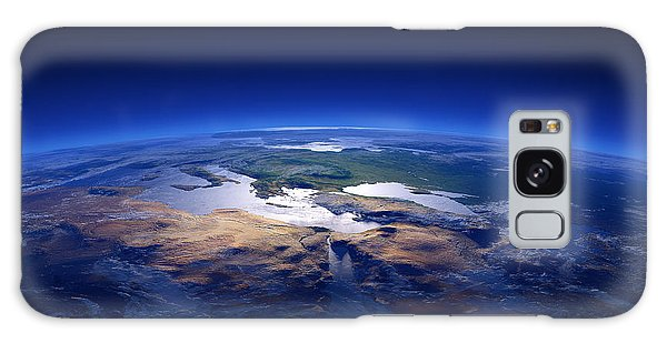 Earth From Space Galaxy Case - Earth - Mediterranean Countries by Johan Swanepoel