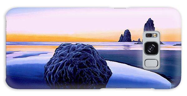 Tides Galaxy Case - Earth Sunrise by Paul Meijering
