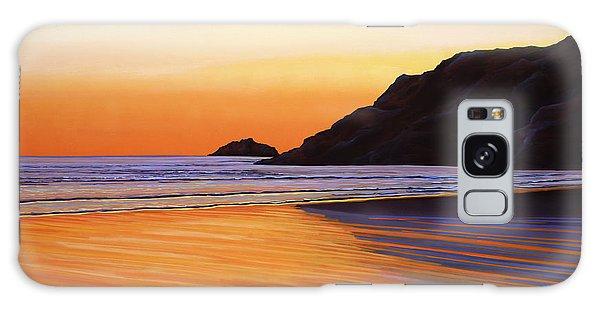 Tides Galaxy Case - Earth Sunrise Sea by Paul Meijering
