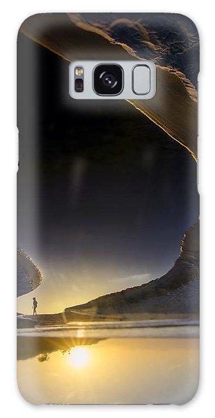 Ominous Galaxy Case - Earth Walker by Sean Foster