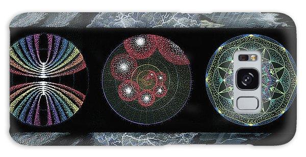 Earth's Beginnings Galaxy Case by Keiko Katsuta