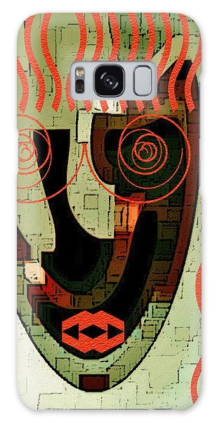 Earthy Woman Galaxy Case