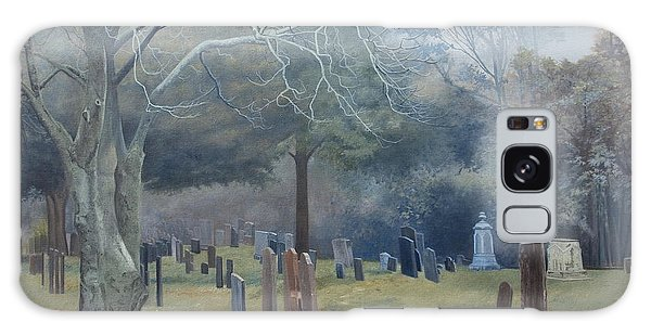 East End Cemetery Amagansett Galaxy Case by Barbara Barber