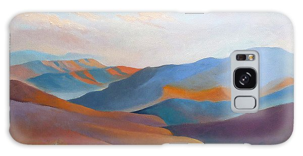 East Fall Blue Ridge No.3 Galaxy Case by Catherine Twomey