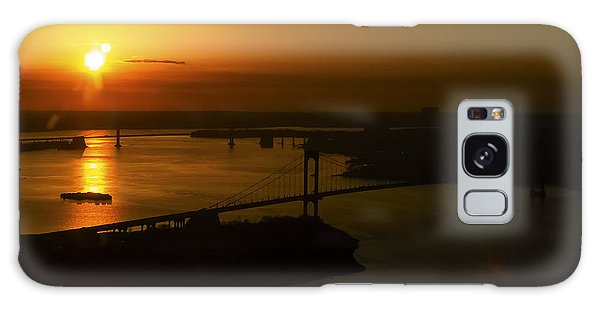 East River Sunrise Galaxy Case