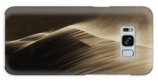 Sand Dunes Galaxy Case - East Wind In The Namib Desert by Xenia Ivanoff-erb