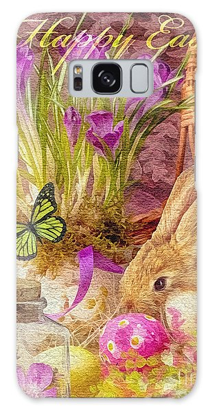Mo Galaxy Case - Easter Bunny by Mo T