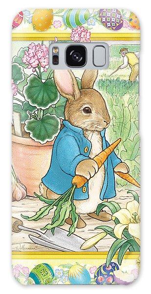 Easter Bunny Galaxy Case