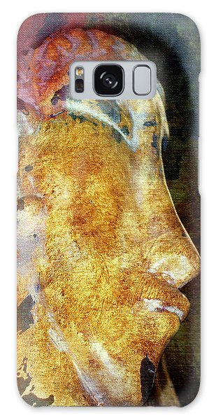 Easter Island Man Galaxy Case by Irma BACKELANT GALLERIES