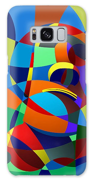 Easter Island Galaxy Case by Randall Henrie