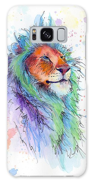 Easter Lion Galaxy Case