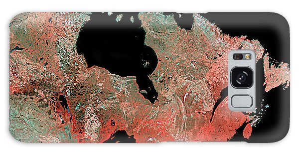 Boreal Forest Galaxy Case - Eastern Canada Mosaic by Mda Information Systems/science Photo Library