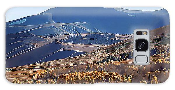 Eastern Sierra Nevada Autumn Galaxy Case by Wernher Krutein