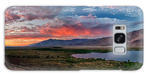 Eastern Sierra Sunset Galaxy Case