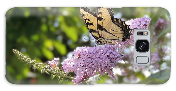 Eastern Tiger Swallowtail  Galaxy Case by Teresa Schomig