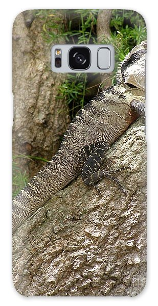 Eastern Water Dragon Galaxy Case by Bev Conover