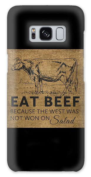 Eat Beef Galaxy Case