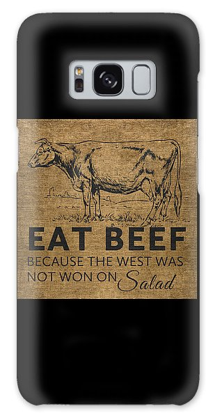 Eat Beef Galaxy Case