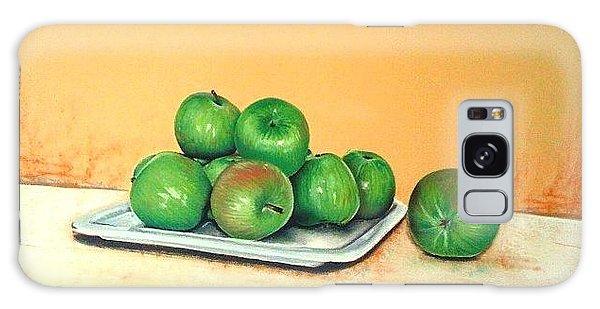 Eat Green Galaxy Case by Katharina Filus