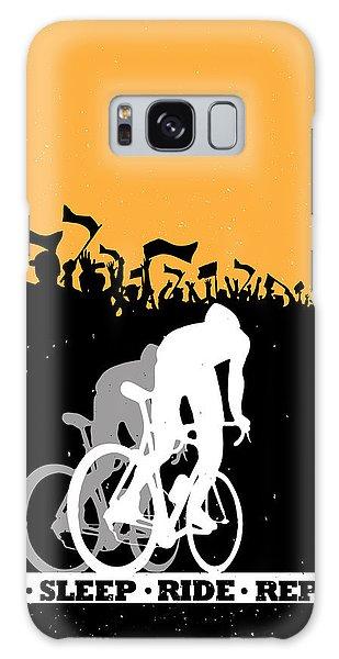 Eat Sleep Ride Repeat Galaxy Case