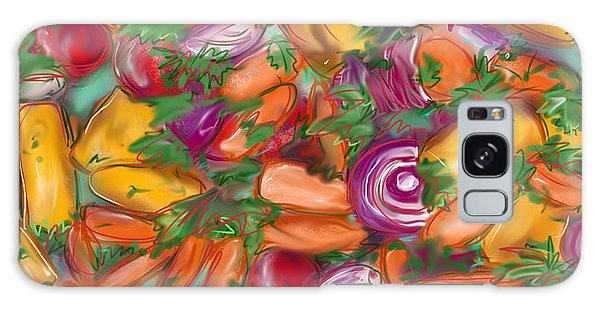 Eat Your Veggies Galaxy Case