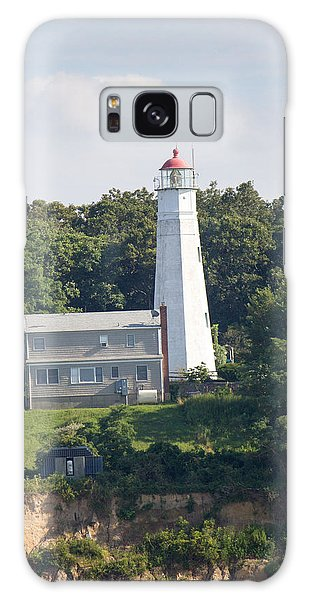 Eatons Neck Lighthouse Galaxy Case