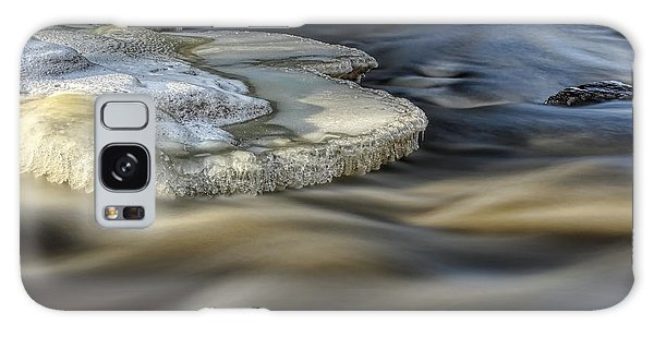 Eau Claire Dells Park River Ice Galaxy Case