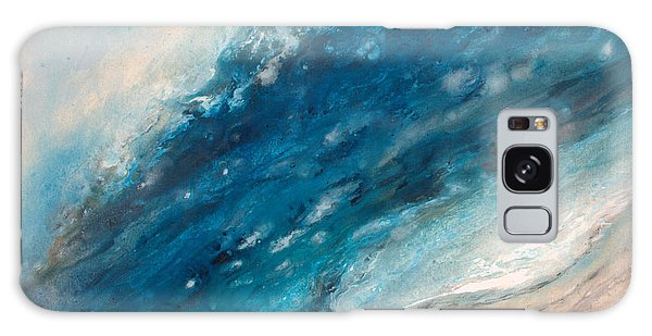 Ebb And Flow Galaxy Case by Valerie Travers