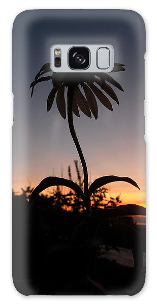 Echinacea Sunset Galaxy Case