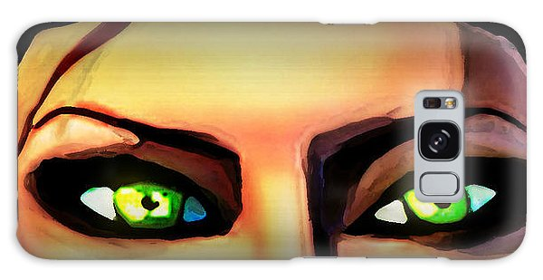 Echo's Eyes Galaxy Case by Persephone Artworks