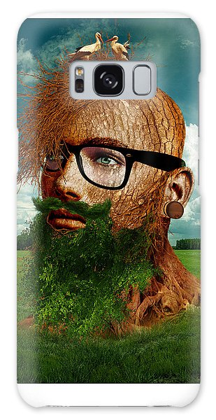 Eco Hipster Galaxy Case by Marian Voicu